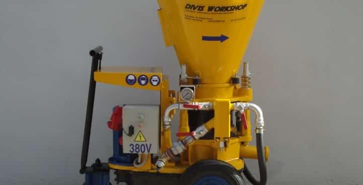 Gunite | Concrete Spraying Machine DVN 3.6/5.6