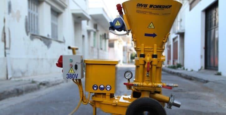 Gunite | Concrete Spraying Machines