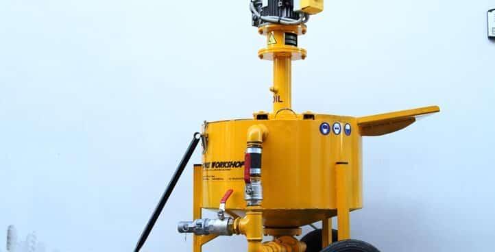 High Speed Turbulent Grout Mixer TDV 2800