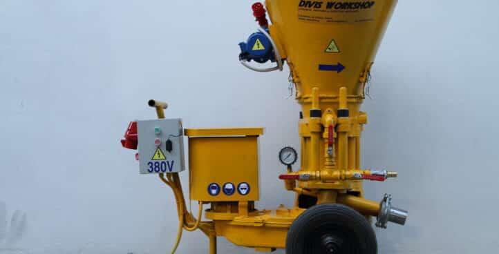 Gunite | Concrete Spraying Machine DV 3.6